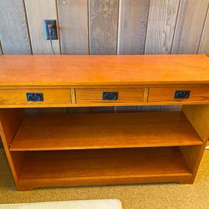 Lot # 6 Wood Entry or Sofa Table