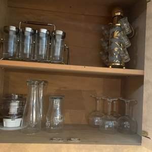 Lot # 14 Lot of Glassware
