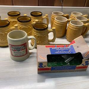 Lot # 16 Lot of Beer-Themed Mugs