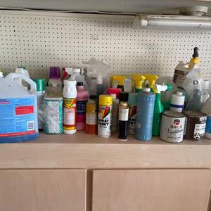 Lot # 24 Lot of Household and Garden Chemicals - TAKE ONLY WHAT YOU WANT