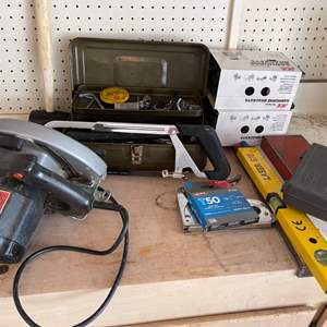 Lot # 25 Lot of Tools and Accessories Un-Tested