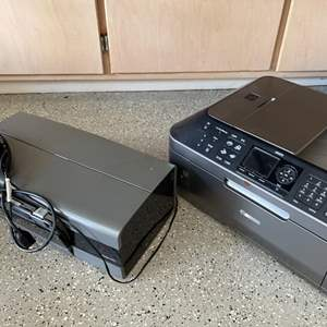 Lot # 42 Lot of Two Printers Canon MX870 and HP Deskjet 6520 - Both UNTESTED