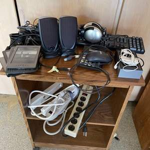 Lot # 56 Lot of Electronics - iPod Classic Accessories, Extension Cords, Etc.