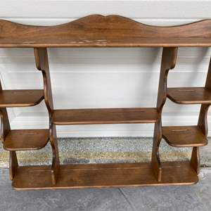 Lot # 69 Shelving Unit Made in CA