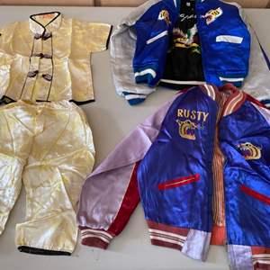 Lot # 95 Vintage Asian Children's Clothes