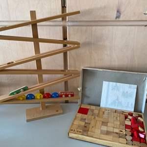 Lot # 99 Vintage Wood Toys