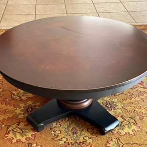 Lot # 103 Small Round Coffee Table