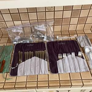 Lot # 170 Lot of Various Silverware
