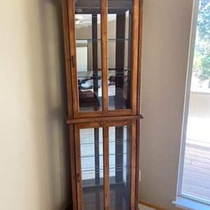 Lot # 175 Display Cabinet