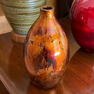 Lot # 178 Amber Vase