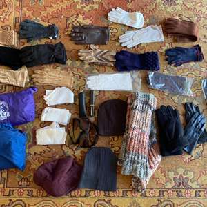 Lot # 181 Lot of Gloves, Wind Breakers, and Glasses