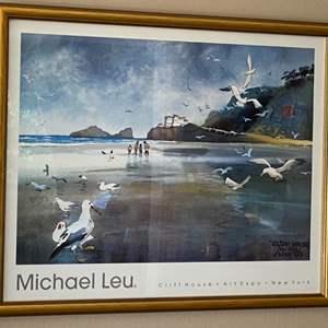 Lot # 239 Michael Leu Cliff House Art Expo Print