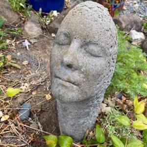 Lot # 273 Outdoor Decoration - Concrete Face
