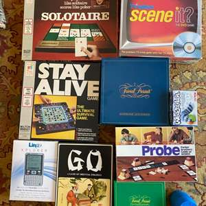 Lot # 279 Lot of Board Games