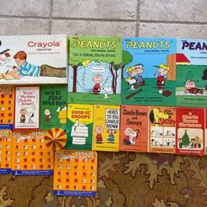 Lot # 281 Lot of Peanuts Coloring/Books