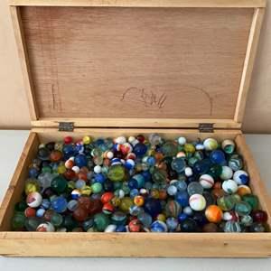 Lot # 303 Nicest Vintage Marble Collection I've Ever Seen!