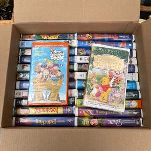 Lot # 306 Lot of VHS Tapes