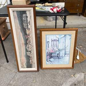 Lot # 313 Norman Rockwell House Prints