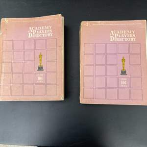 Lot # 318 Pair of Academy Players Directory Books