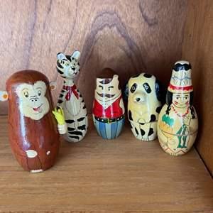 Lot # 334 Lot of Matryoshka Dolls