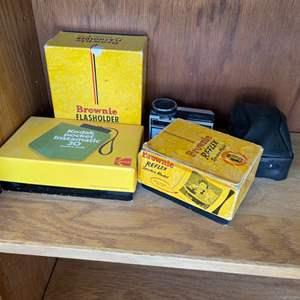 Lot # 339 Vintage Cameras