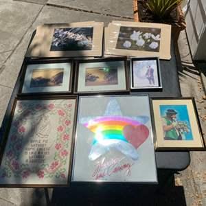Lot # 341 Lot of Various Prints - Framed and Unframed