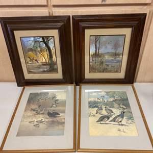 Lot # 342 Lot of Prints By Lynn Bogue Hunt - Framed