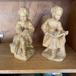 Lot # 346 Pair of Borghese Figurines