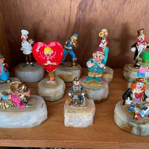 Lot # 358 Lot of Ron Lee Clown Figurines