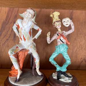 Lot # 364 Figurines of Jesters?