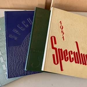 Lot # 369 Four Speculum Late 1940-Early 1950 Yearbooks