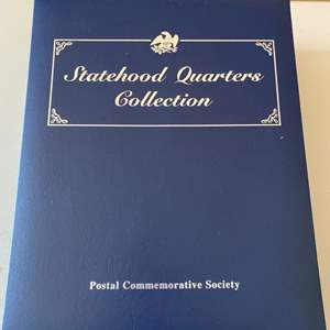 Lot # 370 Postal Commemorative Society - Statehood Quarters Collection