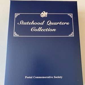Lot # 371 Postal Commemorative Society - Statehood Quarters Collection