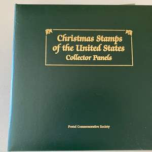 Lot # 373 Postal Commemorative Society - Christmas Stamps of the United States Collector Panels