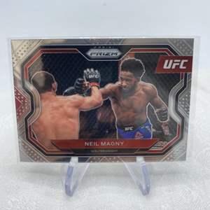 Lot # 19 2021 Panini Prizm UFC NEIL MAGNY