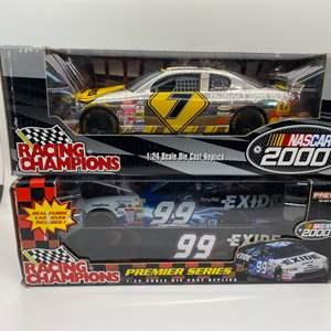 Lot # 16 Lot of 2 Racing Champions NASCAR 2000 1:24 Die Cast Replica