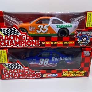 Lot # 17 Lot of 2 Racing Champions 1:24 Die Cast Replica