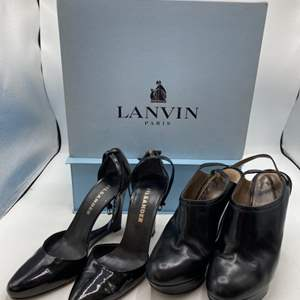Lot # 23 Two Pairs of Women's Shoes - Lavin and Jilsander, Black (35.5-36)