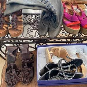 Lot # 25 Lot of Women's Shoes (Apx Size 36)