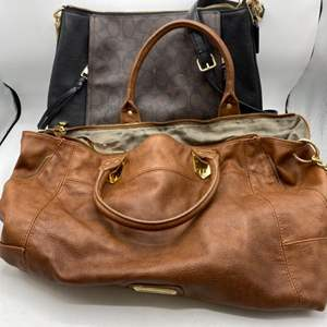 Lot # 35 Lot of Ladies' Purses (Coach and Steve Madden)