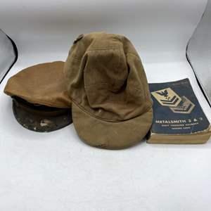 Lot # 37 WWII Military Hats and Metalsmith Handbook