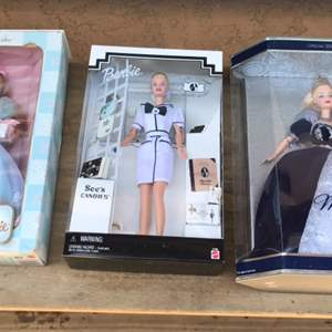 Lot # 52 Barbie Doll Lot - Three Unopened Boxes