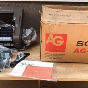 Lot # 64 Vintage Sony Cassette Auto Changer