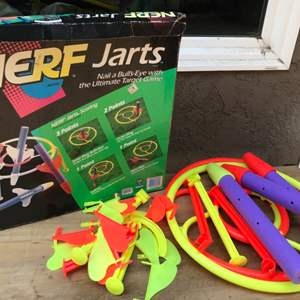 Auction Thumbnail for: Lot # 65 Vintage Nerf Jarts Game