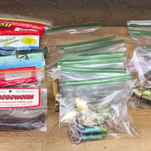 Lot # 70 Professional Bass Lure & Tackle Lot