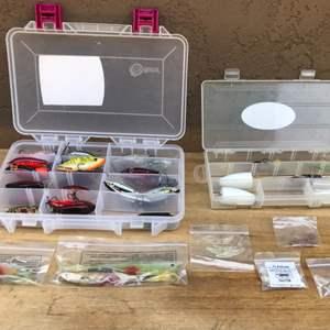 Lot # 73 Plastic Box lot of Professional Lures