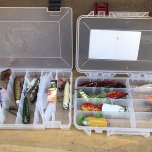 Lot # 74 Plastic Box lot of Professional Lures