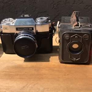 Lot # 80 Vintage Camera Lot - Untested