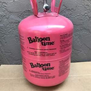 Lot # 68 Balloon Time Helium Tank