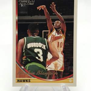 Lot # 240 1993 Topps Gold MOOKIE BLAYLOCK
